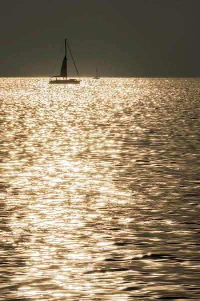 Photograph - Sailing Into A Croatian Sunset by Wolfgang Stocker