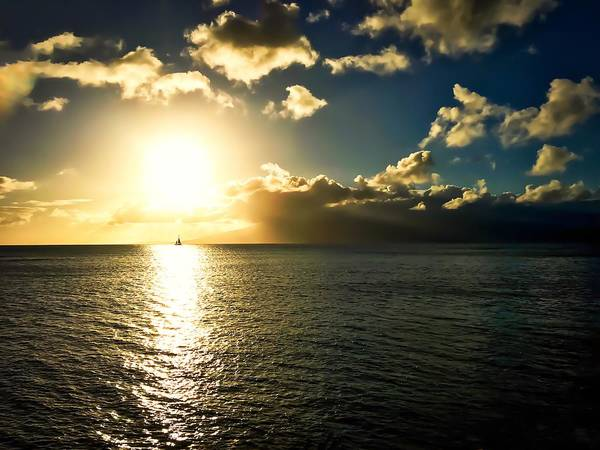 Wall Art - Photograph - Sailing Into The Sunset by Christina Ford