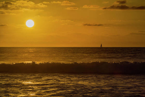 Photograph - Sailing Into The Sunset by Jonathan Hansen