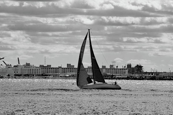 Wall Art - Photograph - Sailing by Kathy Dennehey