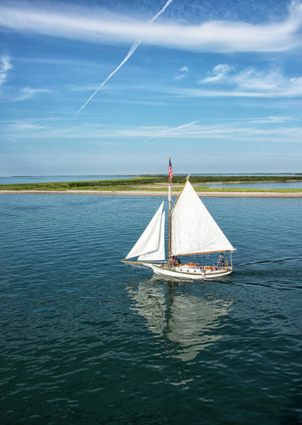 Wall Art - Photograph - Sailing - Nantucket Island - Massachusetts by Brendan Reals