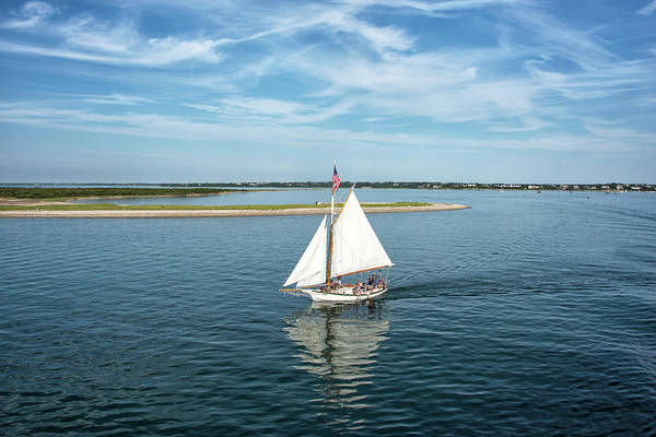 Wall Art - Photograph - Sailing Off Of Nantucket - Massachusetts by Brendan Reals