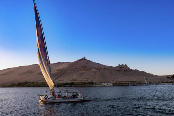 Photograph - Sailing On The Nile by Karen Rispin