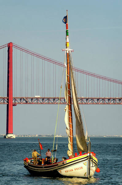 Wall Art - Photograph - Sailing On The Tagus by Pablo Lopez