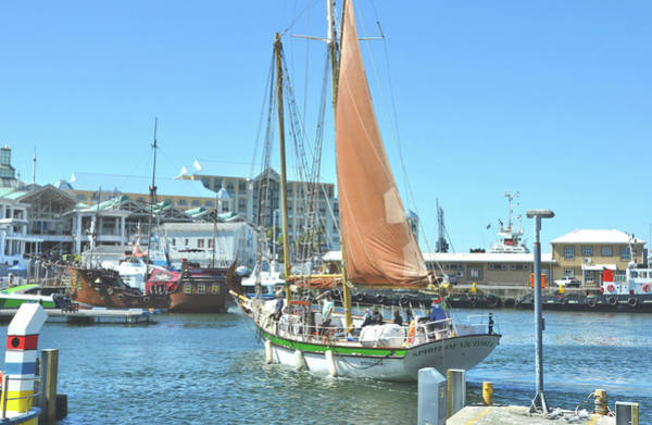 Photograph - Sailing Out Of Cape Town by JAMART Photography