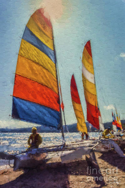 Wall Art - Photograph - Sailing Pause by Vance Fox