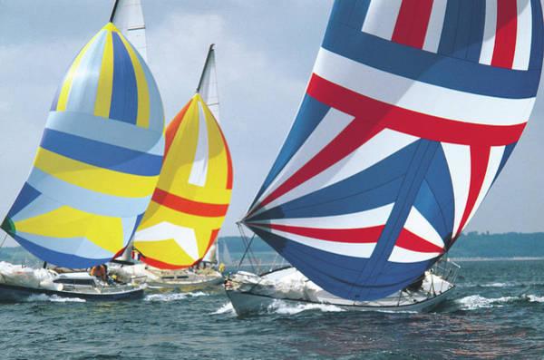 Endurance Race Photograph - Sailing Race by John Foxx