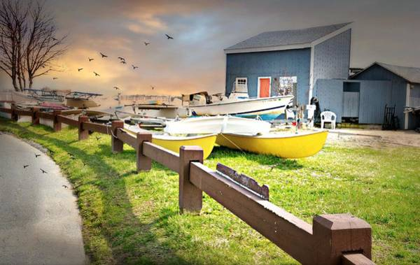 Wall Art - Photograph - Norwalk Sailing School by Diana Angstadt