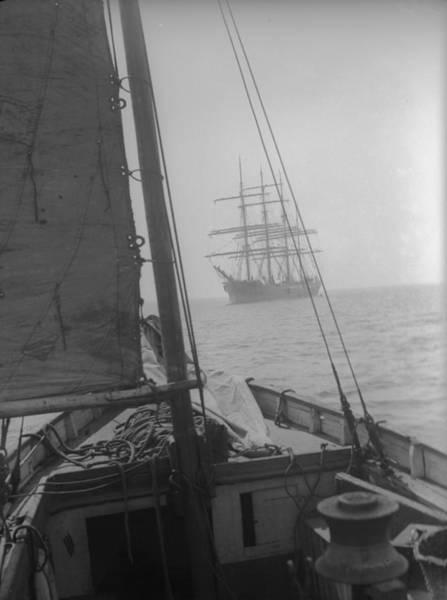 Falmouth Wall Art - Photograph - Sailing Ships by Fox Photos