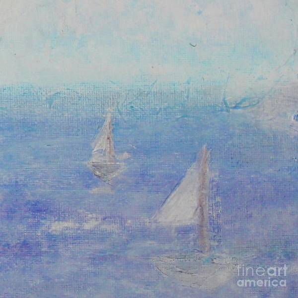 Painting - Sailing Subtly by Kim Nelson