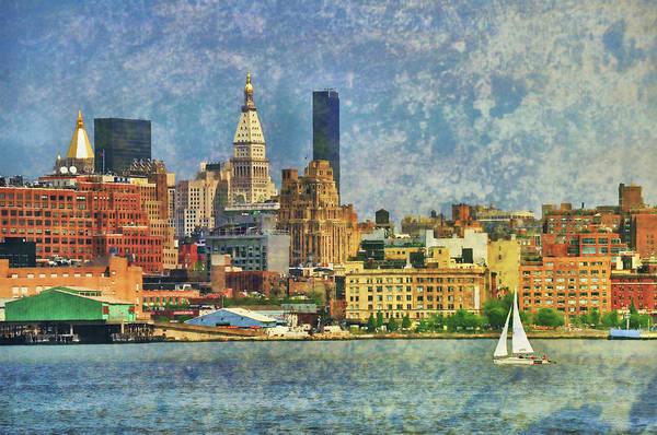 Photograph - Sailing The Hudson by JAMART Photography