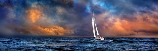 Photograph - Sailing The Winedark Sea by Endre Balogh