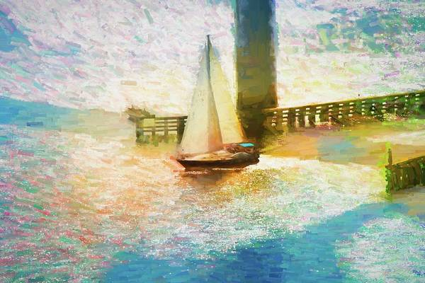 Photograph - Sailing Through by Alice Gipson
