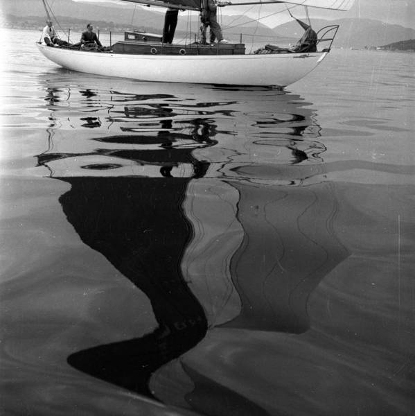 Clyde Photograph - Sailing Trip by Bert Hardy