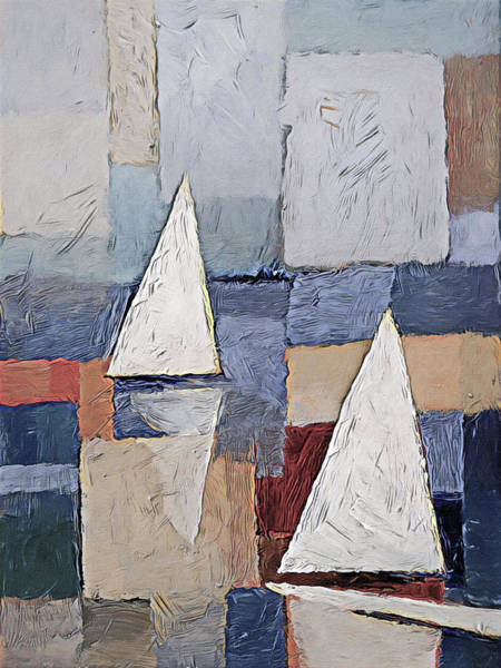Wall Art - Painting - Sails Art by Lutz Baar
