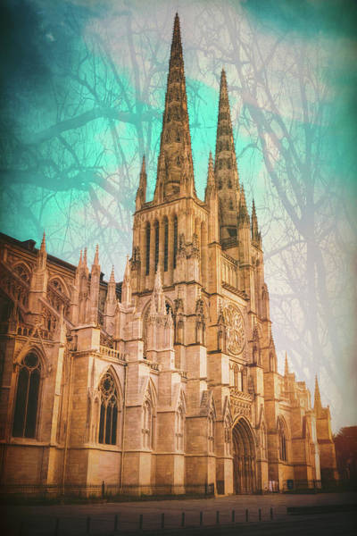 Wall Art - Photograph - Saint Andre Cathedral Bordeaux France  by Carol Japp