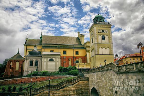 Wall Art - Photograph - Saint Anne Church In Warsaw by Mariola Bitner