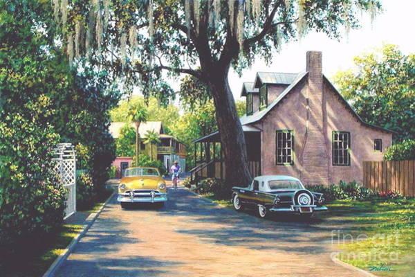 Thunderbird Wall Art - Painting - Saint Augustine by Frank Dalton