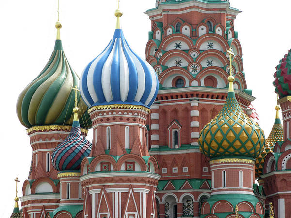 Town Square Wall Art - Photograph - Saint Basil Cathedral, Red Square by Joachim Girg