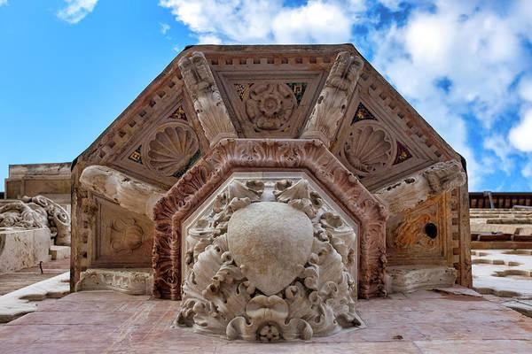 Photograph - Saint Bernardino's Pulpit by Fabrizio Troiani