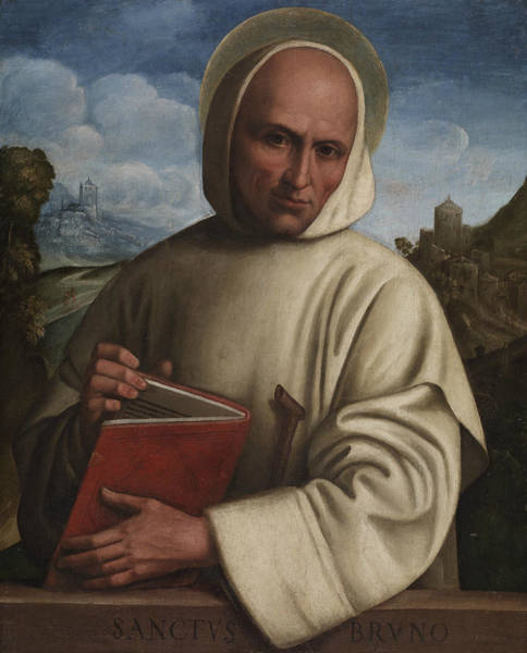 Wall Art - Painting - Saint Bruno by Girolamo Marchesi