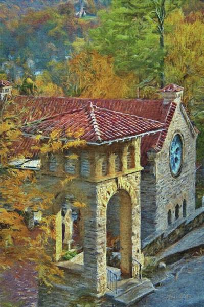 Painting - Saint Elizabeth Of Hungary by Jeffrey Kolker