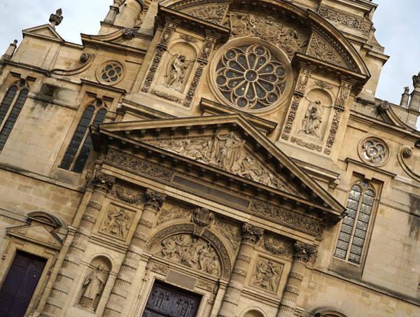 Photograph - Saint Etienne Du Mont 2 by Andrew Fare
