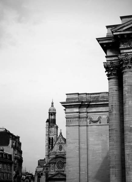 Photograph - Saint Etienne Du Mont B by Andrew Fare