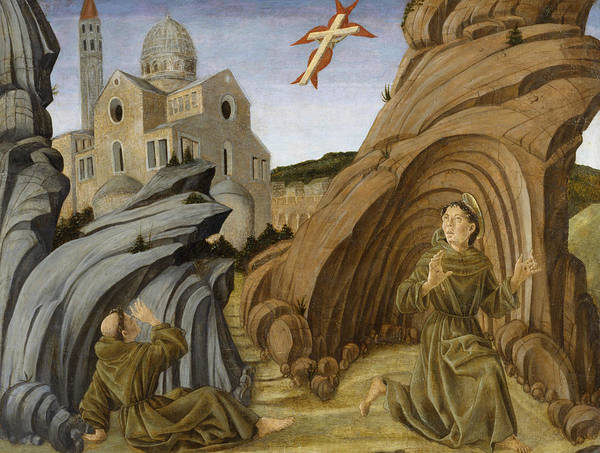 Painting - Saint Francis Receiving The Stigmata by Marco Zoppo