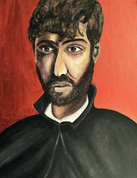 Wall Art - Painting - Saint Francis Xavier by Mikayla Ruth Koble