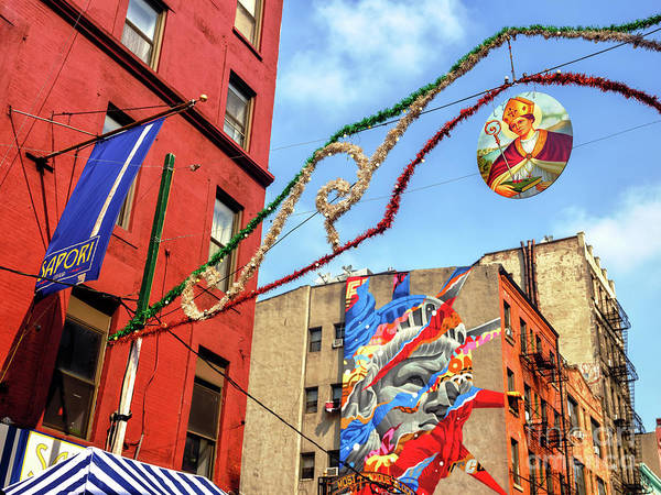 Wall Art - Photograph - Saint Januarius Little Italy New York City by John Rizzuto