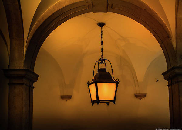 Photograph - Saint Jerome Lamp by Juan Contreras