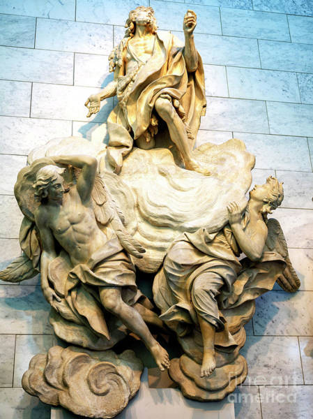 Photograph - Saint John In Glory From The Baptistery Of San Giovanni In Florence by John Rizzuto