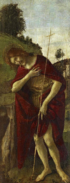 Sandro Botticelli Painting - Saint John The Baptist by Sandro Botticelli