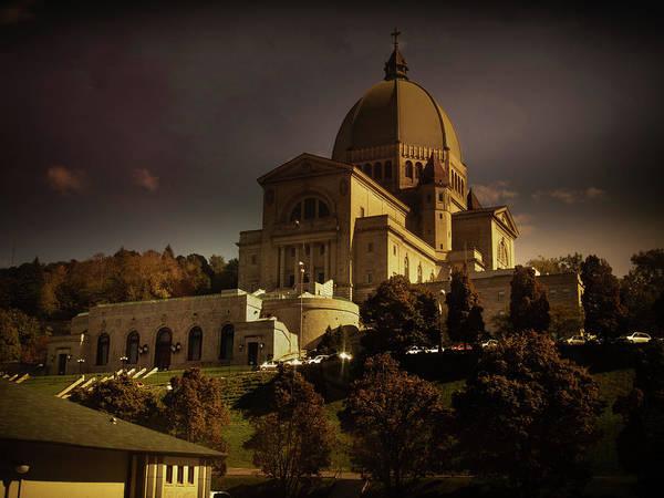 Photograph - Saint Joseph Oratory by Juan Contreras