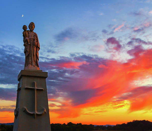 Photograph - Saint Joseph Sunset  by Richard Kopchock