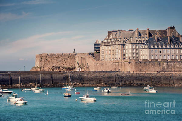 Wall Art - Photograph - Saint Malo, Brittany by Delphimages Photo Creations