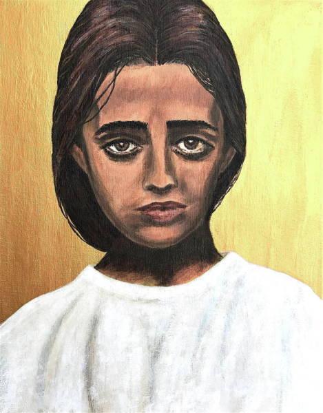 Wall Art - Painting - Saint Maria Goretti by Mikayla Ruth Koble