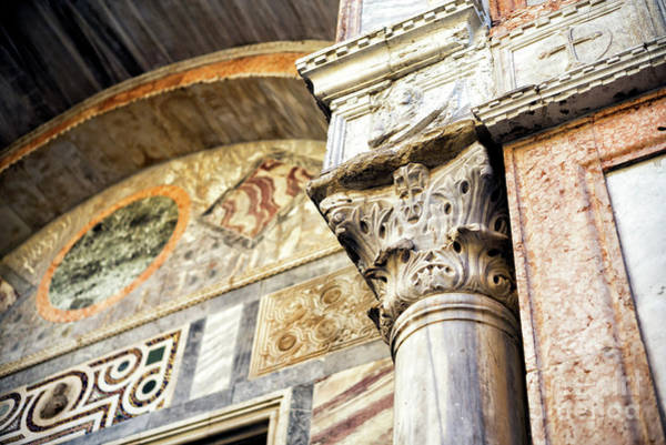 Wall Art - Photograph - Saint Mark's Details In Venice by John Rizzuto