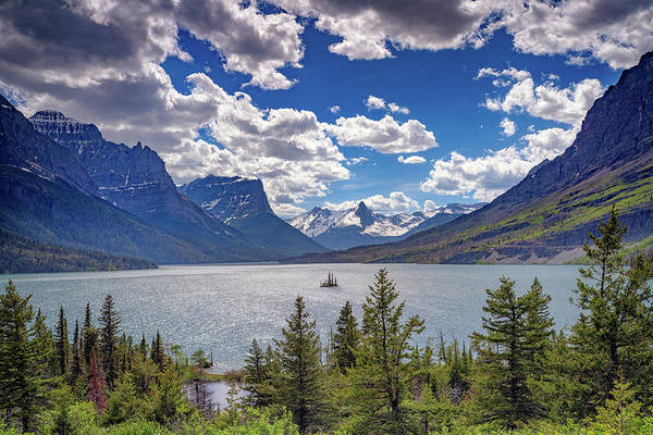 Wall Art - Photograph - Saint Mary Lake by Rick Berk