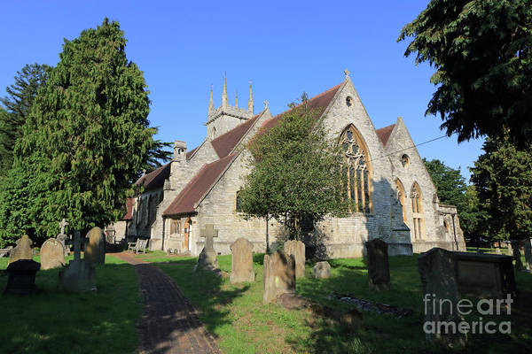 Photograph - Saint Marys Church Ewell Epsom Surrey England by Julia Gavin