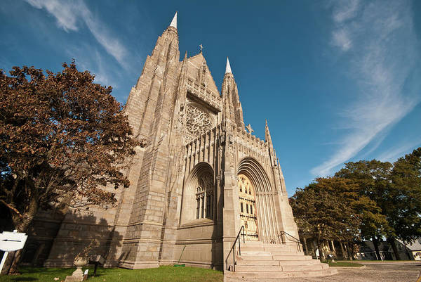 Stamford Photograph - Saint Marys Church by Fabio Canhim