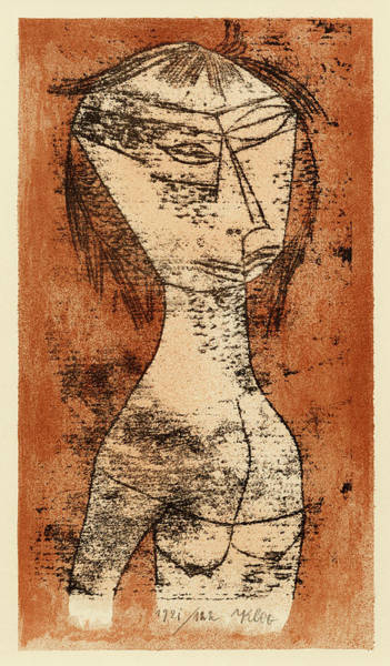 Wall Art - Painting - Saint Of Inner Light, Circa 1921 by Paul Klee