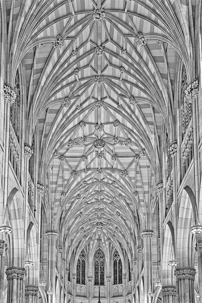 Photograph - Saint Patrick's Cathedral  Nyc Bw by Susan Candelario