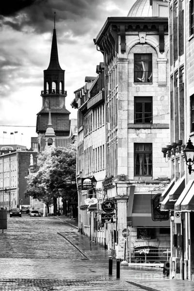 Old Montreal Photograph - Saint Paul Street Old Montreal by John Rizzuto