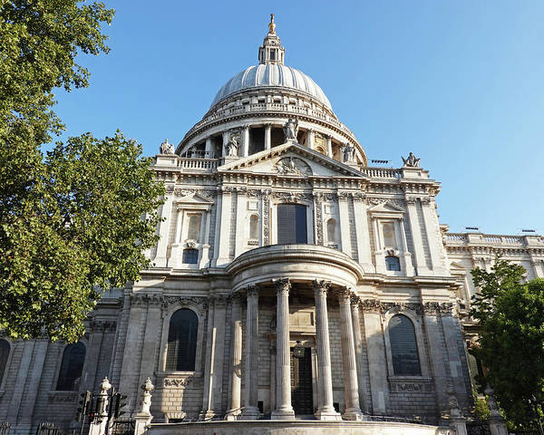 Photograph - Saint Paul's Cathedral London Uk England by Toby McGuire