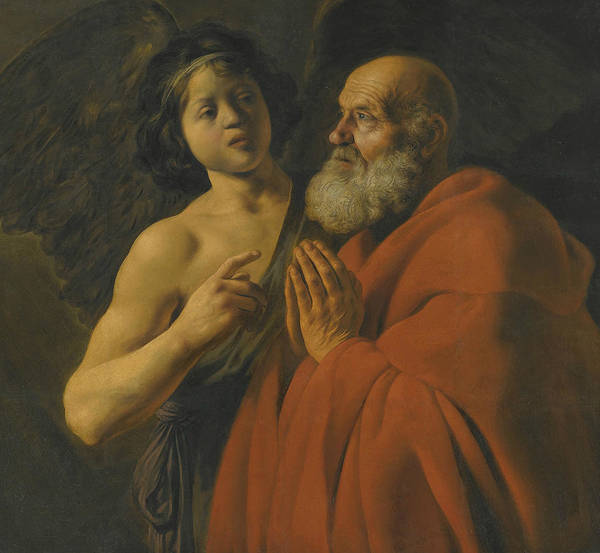 Wall Art - Painting - Saint Peter Released From Prison by Jan Lievens