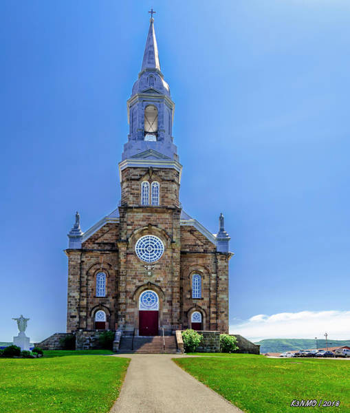 Photograph - Saint Peter's Catholic Church by Ken Morris Jr