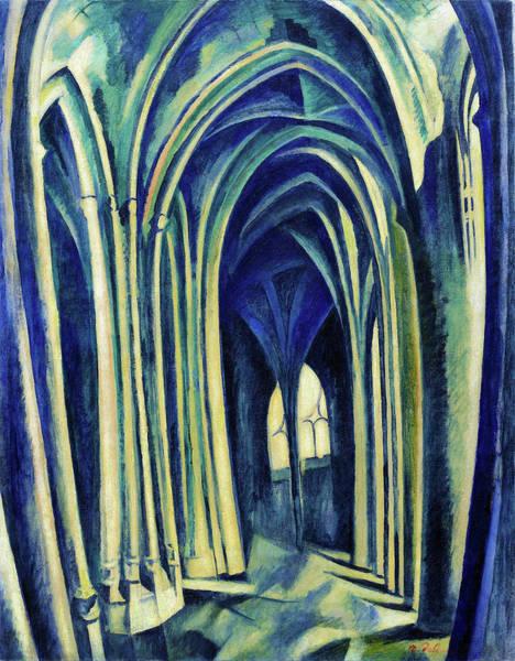 Wall Art - Painting - Saint-severin No.3 - Digital Remastered Edition by Robert Delaunay