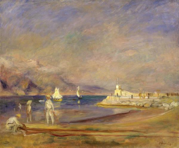 Wall Art - Painting - Saint-tropez by Pierre-Auguste Renoir